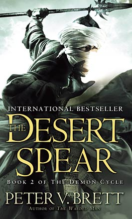 Omslagsbild till The Desert Spear