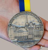 Hett eftertraktad medalj