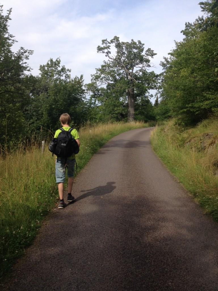 Pilgrimsvandring med det bästa ressällskap man kan tänka sig!